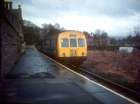 A DMU stands at the branch terminus at Alston in the early 1970s with a train for Haltwhistle, shortly before closure of the branch by BR.<br><br>[Ian Dinmore&nbsp;//]