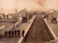 1910 picture of Loch Leven Station, Kinross. Photo courtesy Garry Morton.<br><br>[Garry Morton Collection&nbsp;//1910]