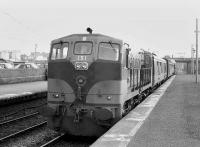 CIE 151 with a train at Claremorris in 1988.<br><br>[Bill Roberton&nbsp;//1988]