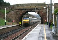 14.00 Waverley - Kings Cross NXEC service runs south through Musselburgh on 11 December. <br><br>[John Furnevel&nbsp;11/12/2007]