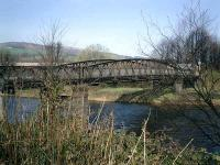<B>Black Bridge</B> carried the branch from the LMS/LNER joint branch line over the River Leven to the Dillichip Dye Works, now bonded whisky warehouses.<br><br>[Alistair MacKenzie&nbsp;02/04/2007]
