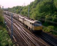 Freight at Mossend East Junction in 2002.<br><br>[Ewan Crawford&nbsp;//2002]