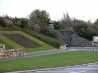 Bridge remains on the St Andrews Branch, photographed in December 2007. NE view of old railway bridge abutments to the west of the town near the Old Course. <br><br>[Brian Forbes&nbsp;24/12/2007]