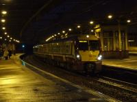 334020 sitting at Platform 3 of Paisley Gilmour Street on an evening service to Glasgow Central<br><br>[Graham Morgan&nbsp;14/01/2008]