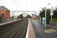 View west at Jordanhill towards Clydebank on the rain soaked morning of Sunday 23 September 2007.<br><br>[John Furnevel&nbsp;/09/2007]