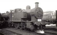 47169 standing at Princes Pier Shed during the late 1950s <br><br>[Graham Morgan Collection&nbsp;//]