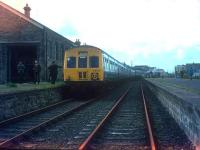 The Lea Valley RC railtour at Wadebridge, Cornwall in 1975.<br><br>[Ian Dinmore&nbsp;//1975]