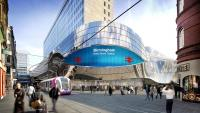 Artist's impression of the new Stephenson Street entrance to Birmingham New Street.<br><br>[Network Rail&nbsp;/12/2012]
