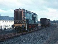 Shunting at Kelso in January 1967.<br><br>[Bruce McCartney&nbsp;/01/1967]