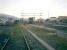 SNCF train at Ille-sur-Tet Station on the Perpignan to Villefranche-sur-Conflent line, heading off into the Pyrenean sunset.<br><br>[Alistair MacKenzie&nbsp;02/11/2007]