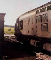 An old pal from my Ravenscraig days at Insch on a passenger train in 1990.<br><br>[Ewan Crawford&nbsp;//1990]