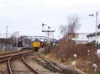 37422 held at signals at Elgin on 18 February with seed potato traffic from Elgin East yard bound for Ely. <br><br>[Mick Golightly&nbsp;18/02/2008]