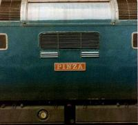 Sir Gordon Richards 1953 Epsom Derby winner <I>Pinza</I> lends its name to Deltic 55007, photographed on the last leg of 1S27 Plymouth - Edinburgh at Newcastle Central on 11 July 1981. <br><br>[Colin Alexander&nbsp;11/07/1981]