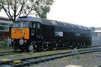 Royal Train locomotive 47798 <I>Prince William</I> at Crewe Diesel Depot in 1995 after a repaint. The train is now in the care of the National Railway Museum.<br><br>[Graham Morgan&nbsp;//1995]