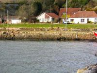 The Mid Pier structure at Charlestown on 19 March 2008. The pier looks, in part at least, to have been originally made up of old stone sleeper blocks.<br><br>[Grant Robertson&nbsp;19/03/2008]