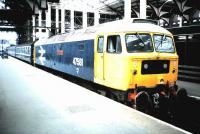 47 581 <I>Great Eastern</I> with a train at Liverpool Street in July 1986.<br><br>[David Panton&nbsp;/07/1986]