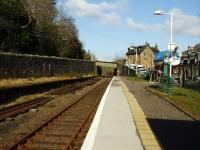 The basic facilities of Stromeferry station.<br><br>[John Gray&nbsp;14/04/2008]