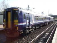 156453 First ScotRail Service departing at 1749 for Glasgow Central<br><br>[Colin Harkins&nbsp;15/04/2008]