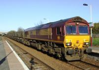 66092 with empty coal hoppers passes through Carmyle on a sunny Tuesday evening.<br><br>[Colin Harkins&nbsp;15/04/2008]