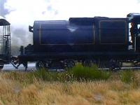 Locomotive tender of the <I>Kingston Flyer</I> operating on New Zealands South Island in March 2008.<br><br>[Brian Smith&nbsp;11/03/2008]