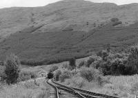 View over Crianlarich Lower looking east towards Killin Junction in the 1980s.<br><br>[Bill Roberton&nbsp;//]