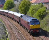 47804 with <I>The Royal Scotsman</I> east of Aberdour on 5 May 2008.<br><br>[Bill Roberton 05/05/2008]