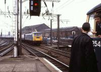 <I>See him...</I> Arrival and departure at Wolverhampton in July 1980.<br><br>[Ian Dinmore&nbsp;/07/1980]