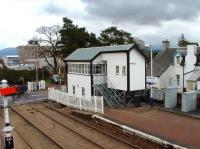 The signal box at Kingussie has been given an upgrade and has acquired an extension.<br><br>[John Gray&nbsp;01/05/2008]