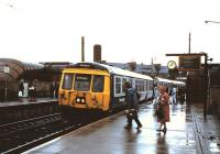 303 031 at Partick in August 1985 with a service for Springburn.<br><br>[David Panton&nbsp;/08/1985]