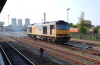 EWS 60063 stands at Didcot on 13 May 2008.<br><br>[Peter Todd 13/05/2008]