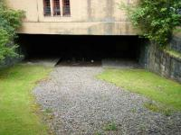 Platform remains at the former Kelvinside station on 22 May looking north along the route as it was about to pass below the station building and through the tunnel under Great Western Road. After emerging the line veered east before crossing a viaduct over the River Kelvin to reach Maryhill Central.<br><br>[Veronica Inglis&nbsp;22/05/2008]