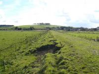 Site of Maud fixed distant (north) in September 2007. Recapture of photograph taken 28 years earlier in March 1979 [see image 19157].<br><br>[John Williamson&nbsp;29/09/2007]