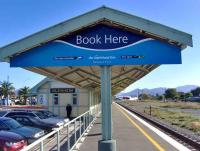 Rush hour at Blenheim station on New Zealands South Island on 16 March 2008.<br><br>[Brian Smith&nbsp;16/03/2008]