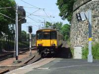 318265 departing Exhibition Centre with a service bound for Dalmuir on 26th May <br><br>[Graham Morgan&nbsp;26/05/2008]