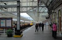 150 years after the railway opened there have been some changes. The first train ran from Buchanan Street station to the original Helensburgh terminus, a little further east.<br><br>[Ewan Crawford&nbsp;28/05/2008]