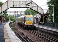 334038 with a Larkhall service at Drumchapel on 17 May 2008.<br><br>[David Panton&nbsp;17/05/2008]