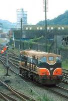 CIE 167 carrying out manoeuvres at Waterford station in 1993.<br><br>[Bill Roberton&nbsp;//1992]