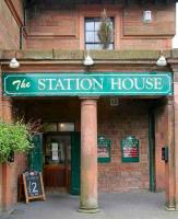 The Station House Annan on 21 May 2008, now a pub/restaurant. <br><br>[John Furnevel&nbsp;21/05/2008]