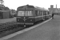 A Railcar stands at Beith Town in July 1962, four months before closure. <br><br>[Colin Miller&nbsp;18/07/1962]