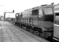CIE service about to leave Limerick Junction in 1988 behind locomotive 080.<br><br>[Bill Roberton&nbsp;//1988]