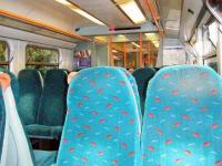 <I>Good evening...please take a seat..</I> the welcoming interior of 334 003, photographed leaving Drumchapel on 8 June 2008.<br><br>[Veronica Inglis&nbsp;08/06/2008]