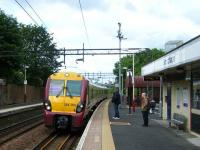 334003 calls at Drumchapel eastbound on 11 June.<br><br>[Veronica Inglis&nbsp;11/06/2008]