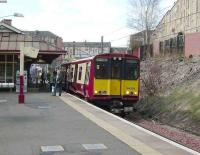 314 209 on a Newton service at Queens Park on 19 April 2008.<br><br>[David Panton&nbsp;19/04/2008]
