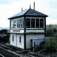 The signal box at Settle Junction, photographed in July 1986.<br><br>[David Panton&nbsp;/07/1986]