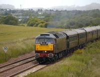 47804 takes <I>The Royal Scotsman</I> away from Inverkeithing East Junction on 25 June 2008 on its journey north. <br><br>[Bill Roberton&nbsp;25/06/2008]