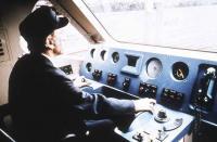 Cab of APT-E during testing in July 1990.<br><br>[Ian Dinmore&nbsp;12/07/1990]