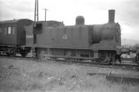 A dejected looking McIntosh 0-6-0T No 56365 stands with other <I>stored</I> locomotives alongside Stirling South shed in May 1959.<br><br>[Robin Barbour Collection (Courtesy Bruce McCartney)&nbsp;19/05/1959]