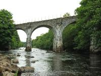 The famous viaduct across the River Dochart on the Killin branch. <br><br>[John Gray&nbsp;23/07/2008]