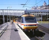 HST at the east end of Waverley in July 1993 as part of a trial involving coupling gear.<br><br>[Peter Todd&nbsp;/07/1993]