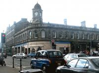 Foot of the Walk. Leith Central frontage in April 2004.<br><br>[John Furnevel&nbsp;26/04/2004]